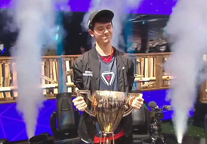 Fortnite World Cup: 16-year-old Bugha wins dollar 3m in Solos finals