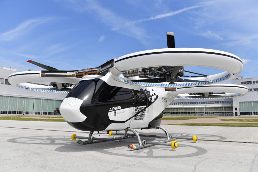 Airbus Futuristic Flying Taxi Just Took Its First Public Flight