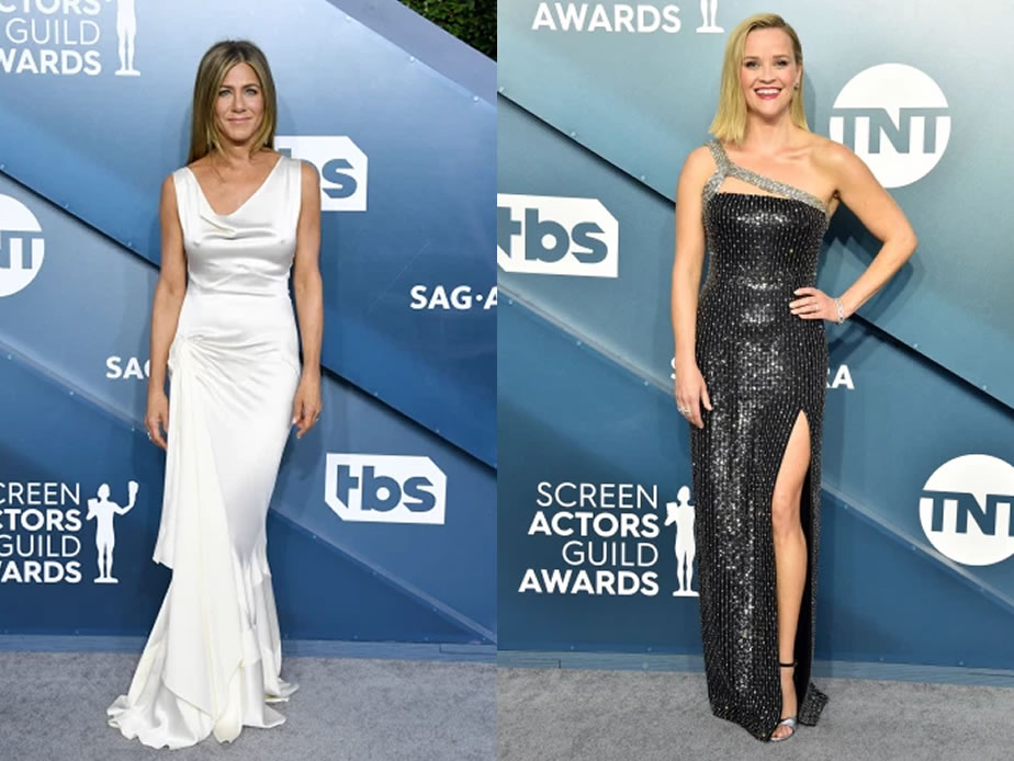 SAG Awards red carpet 2020 celebrity fashion photos